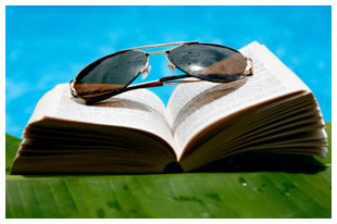 book-sunglasses-pool-cold-reading